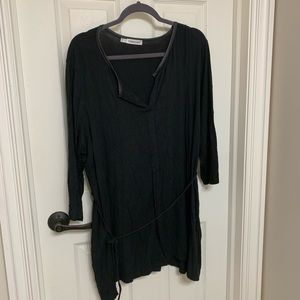 Maurices soft long sleeved black dress